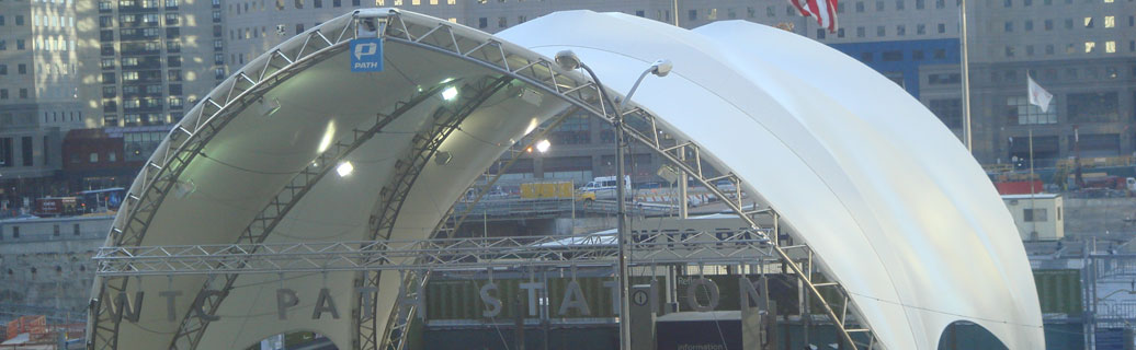fabric structure at world trade center