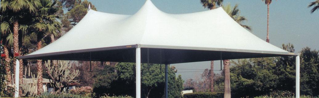 mega canopy tent outdoors