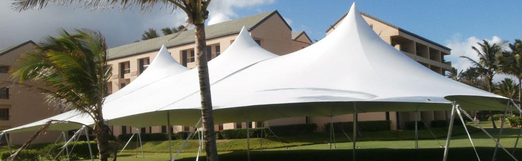 high peak poleadion tent outdoors