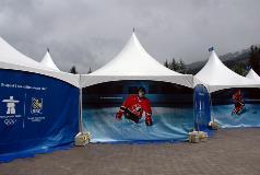 RBC Olympics Promotional Tent