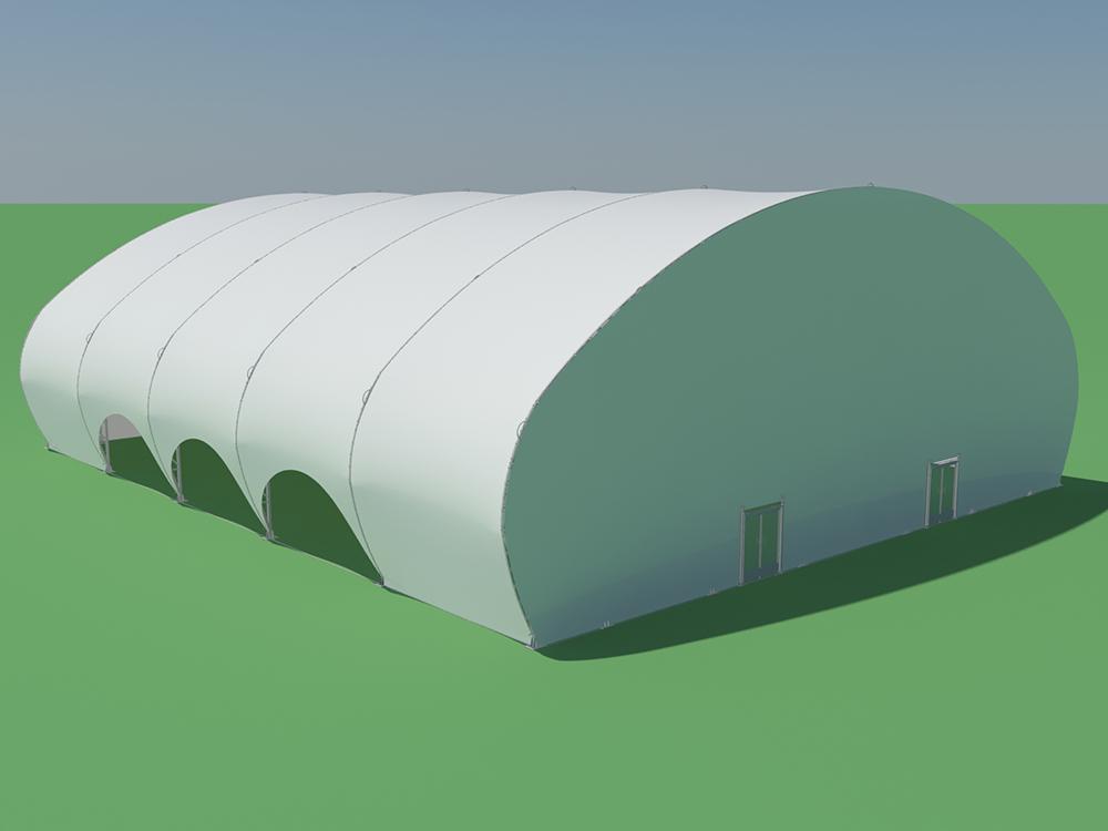 Tentnology Tentanium Oval 100x120 24ft bay