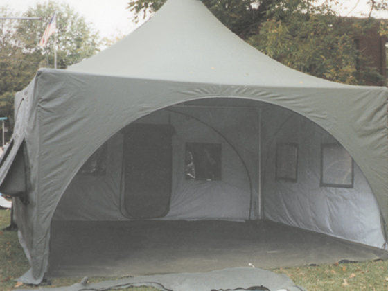 emergency tent shelter