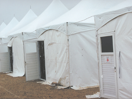 emergency tent units