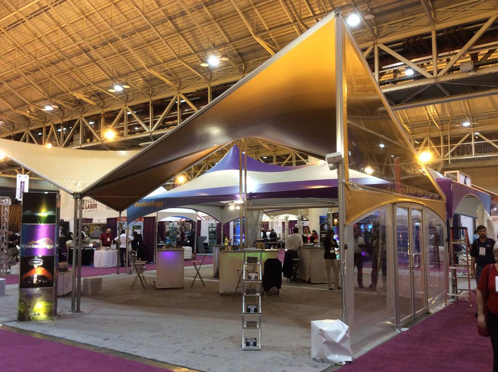 Kubit 20x20 indoor event tent