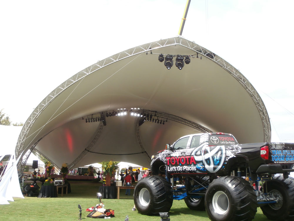 SaddleSpan Event Tent | George P Johnson Toyota Event