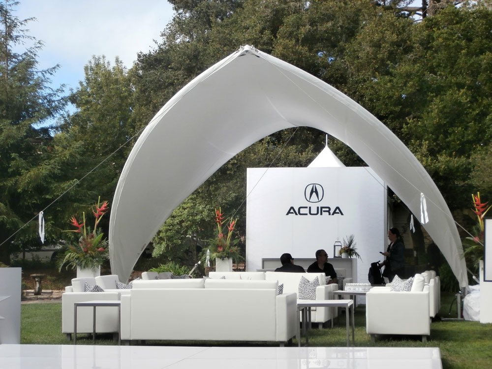SaddleSpan S1000 Open Event Tent | Acura NSX Launch