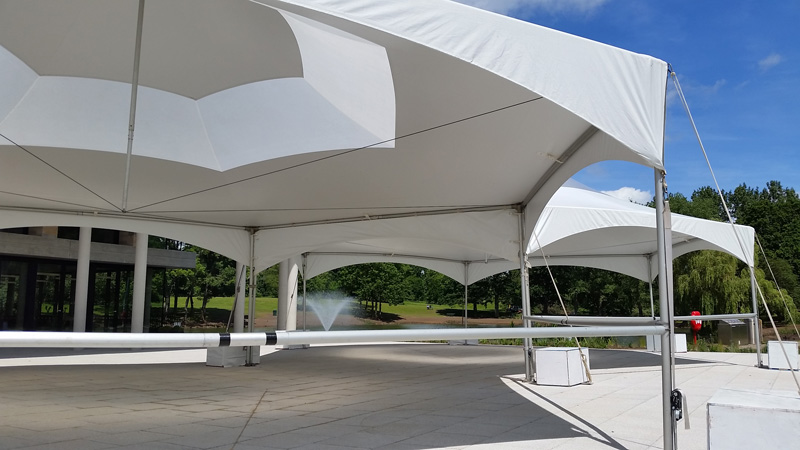 "Tentnology Matrix Marquee Hex40, Diamond20, Skylight | <a href=""http://www.justrightmarquees.co.uk/"" target=""_blank"">Just Right Marquees</a>"