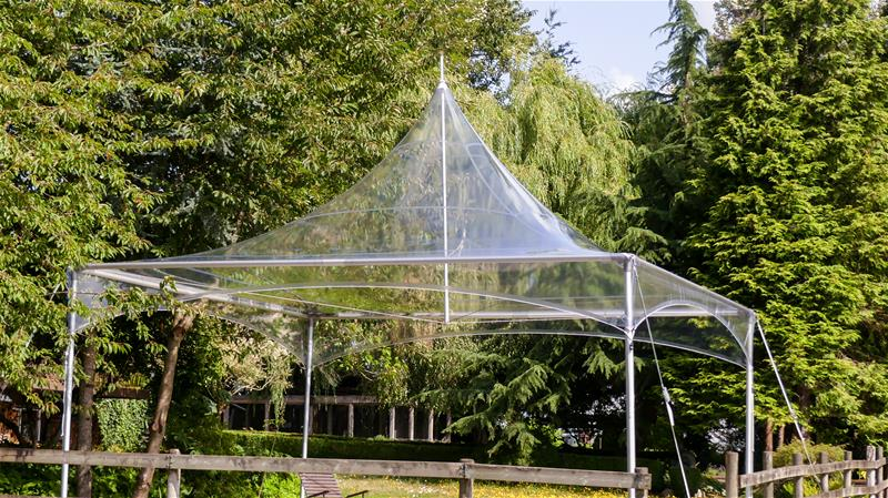 Matrix Marquee MQ20 Crystal Clear Tent
