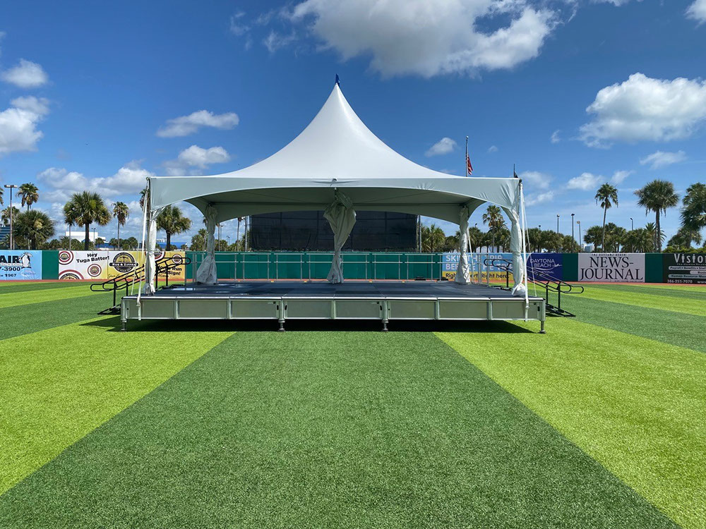 """Tentnology® MQ20 Stage Cover 