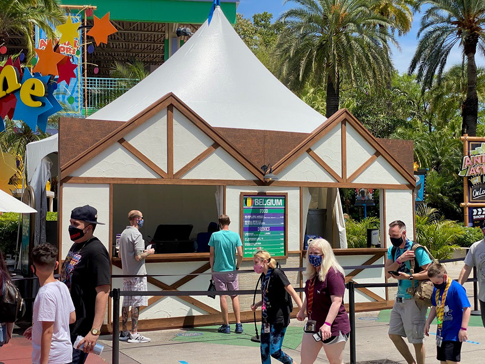 """Tentnology® MQ20 at Universal Studios 