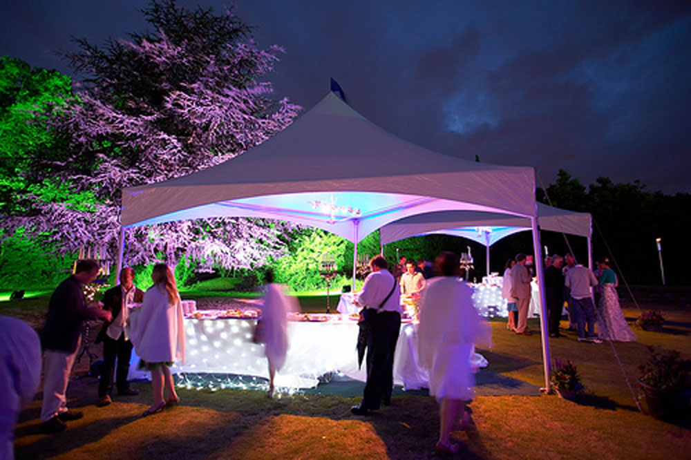 Stoneman Hampton Event Tent