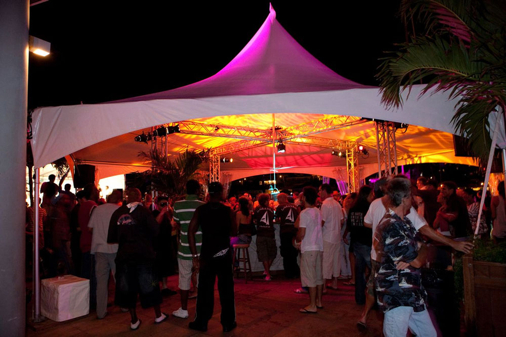 Stoneman Hampton Party Canopy Tent