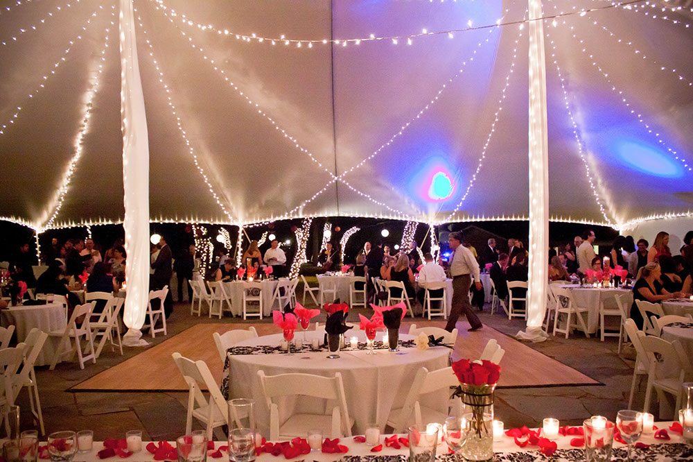 "Poleadion 60x60 | Photo Credit: <a href=""https://laketravisevents.com/"" target=""_blank"">Hacienda del Lago Wedding and Event Center</a>"