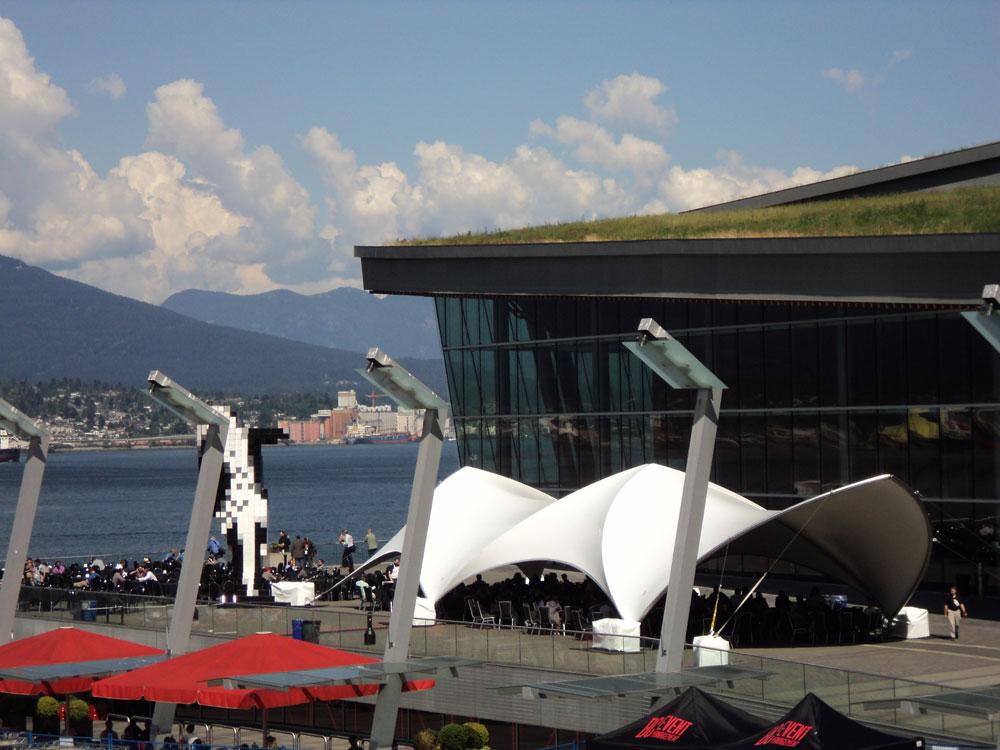 SaddleSpan S1000 Duospan Extend | Vancouver Convenvention Center