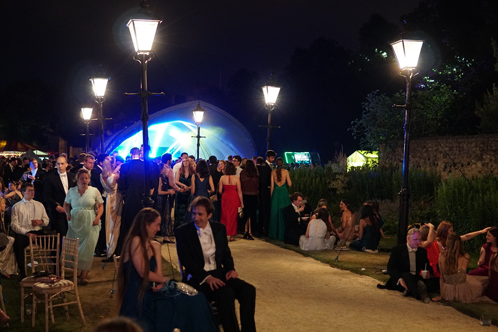SaddleSpan | Cambridge Commemoration Ball