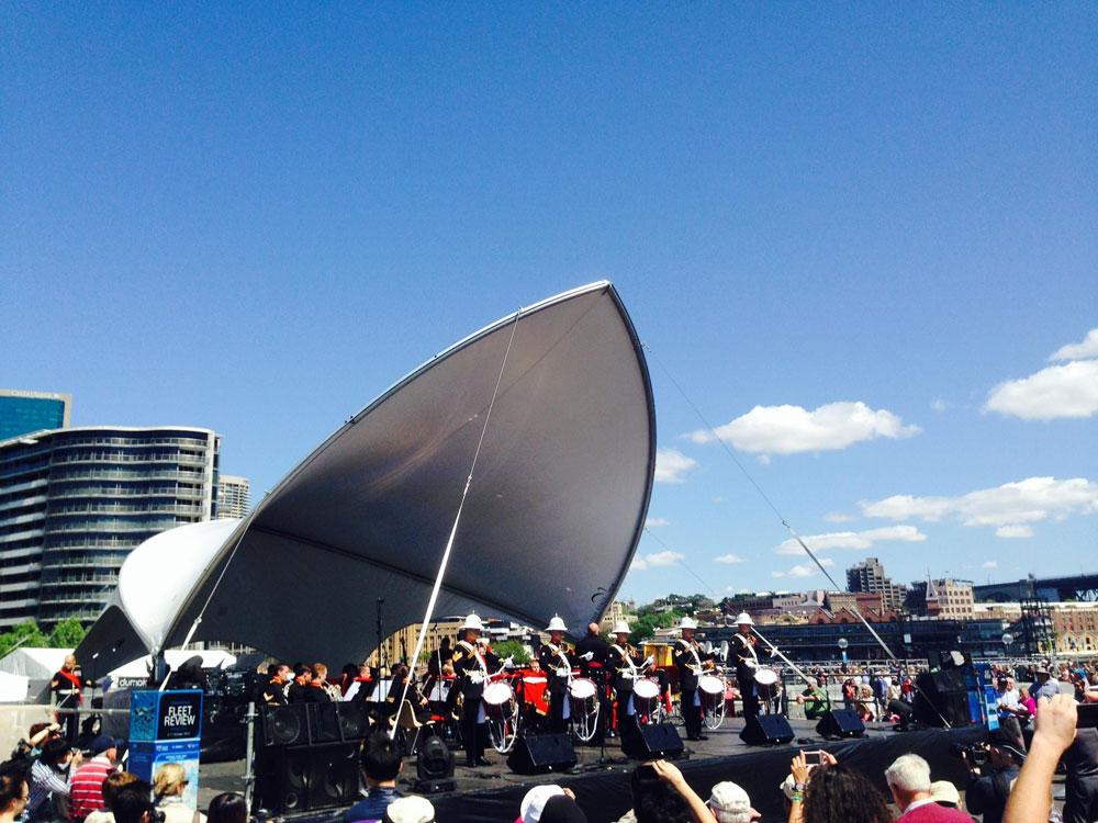 S1000 Extend Concert | Australia Royal Marines