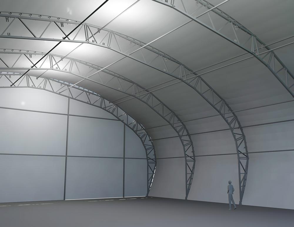 Tentnology Tentanium oval 26M x 30M 6M bay