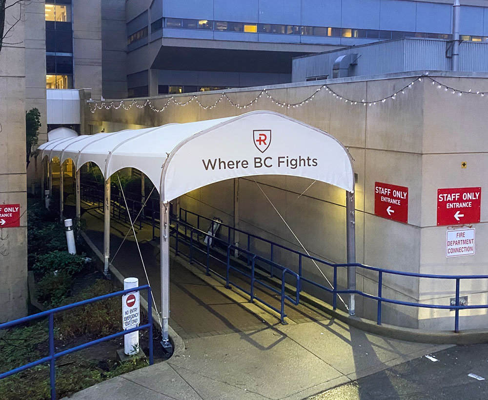 "TSpan™ 10x120 Walkway | Client: <a href=""https://www.rchfoundation.com/"" target=""_blank"">Royal Columbian Hospital Foundation</a> 