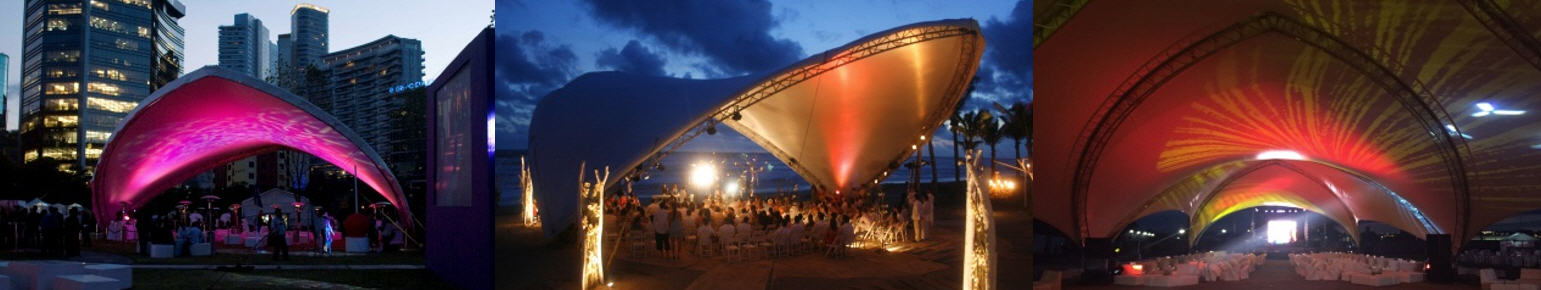 SaddleSpan 'Sydney' tents in Mexico