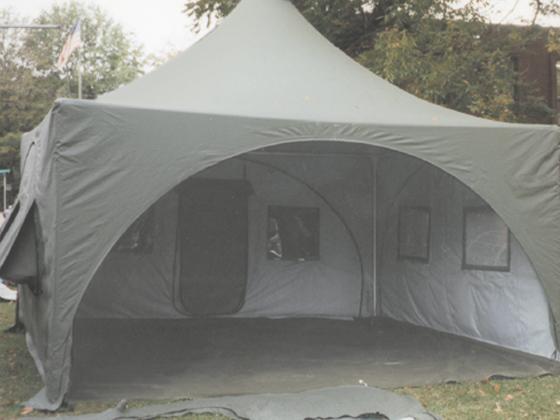 emergency tent shelter