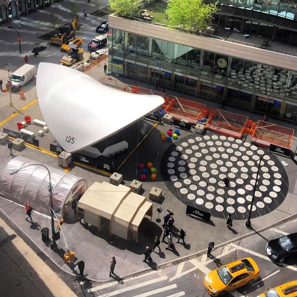 SaddleSpan S2000 Open | Photo Courtesy of: Design Pavilion NYC, NYCXDESIGN